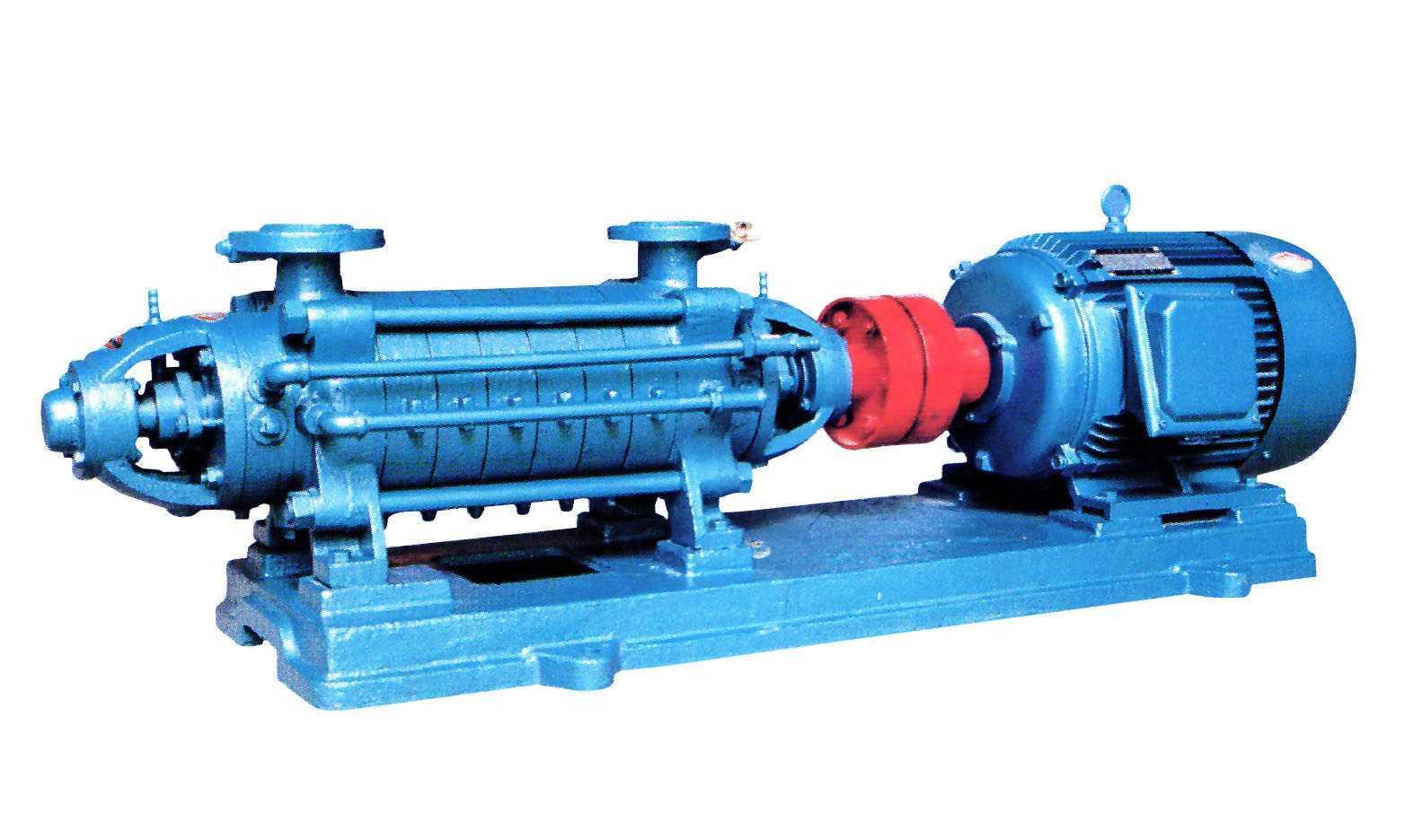 D型系列防爆帶煤安證臥式多級離心泵
