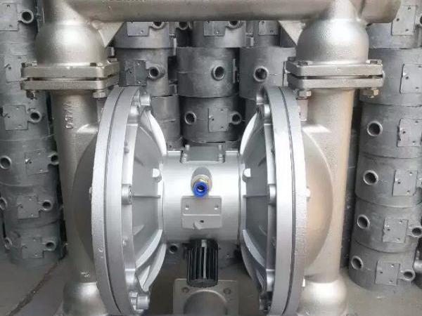 QBY氣動隔膜泵故障與維修 檢查空氣入口過濾網是否被堵塞