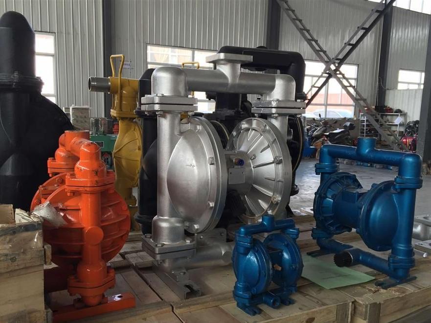 氣動隔膜泵有什么優點 氣動隔膜泵的應用范圍是什么