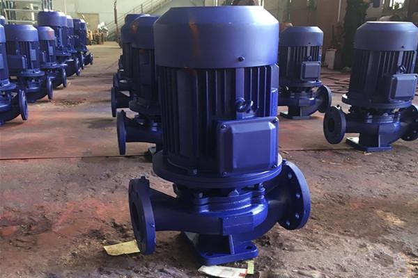 立式管道泵打不上水是什么原因造成的