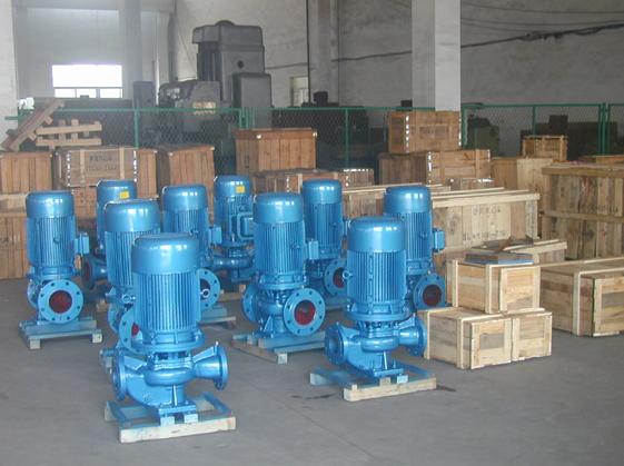 立式管道泵進出口方向如何判斷