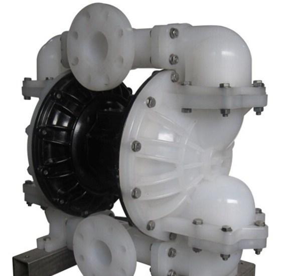 QBY氣動隔膜泵分解圖和QBY氣動隔膜泵特點