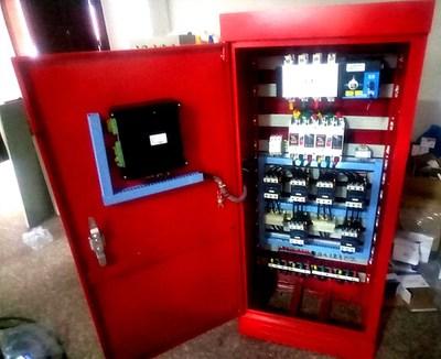 消防噴淋泵控制柜需要兩次才能啟動更加安全穩定