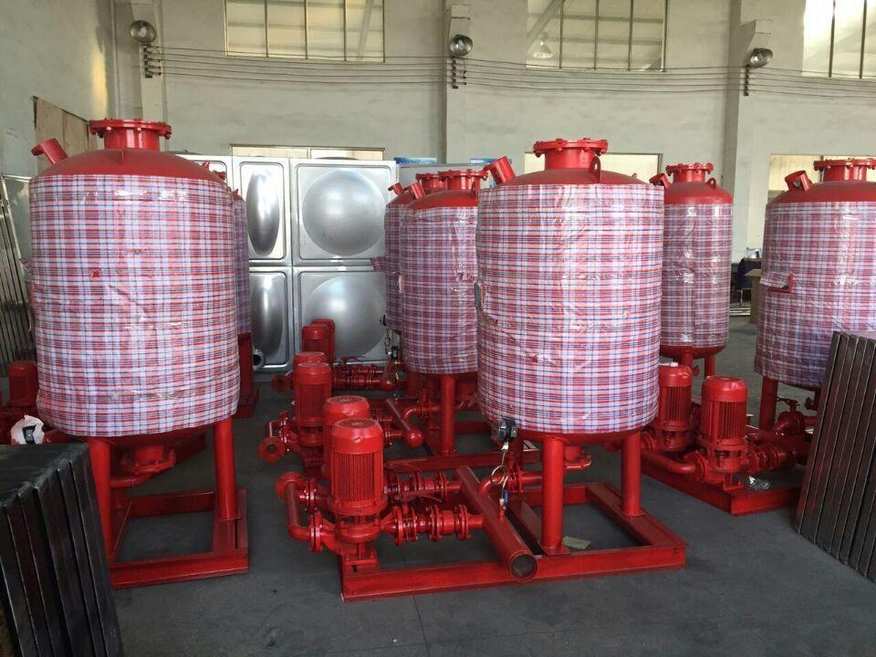 箱泵一體消防增壓穩壓給水設備構成以及工作原理介紹