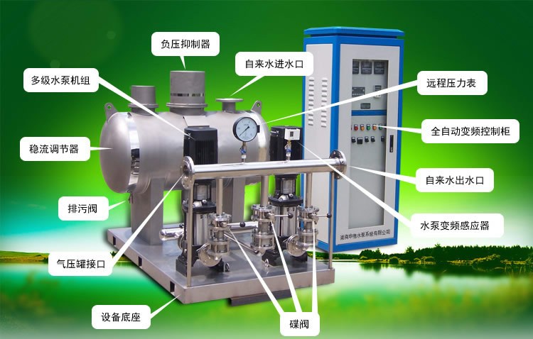 無負壓變頻供水設備排名型號參數哪的比較的齊全