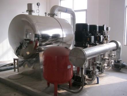 無負壓變頻供水設備企業標準設計和選型都有哪些要求呢
