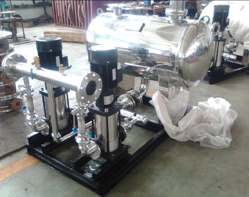 無負壓變頻供水設備報價和設備優點