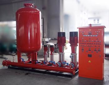 消防增壓穩壓給水設備安裝