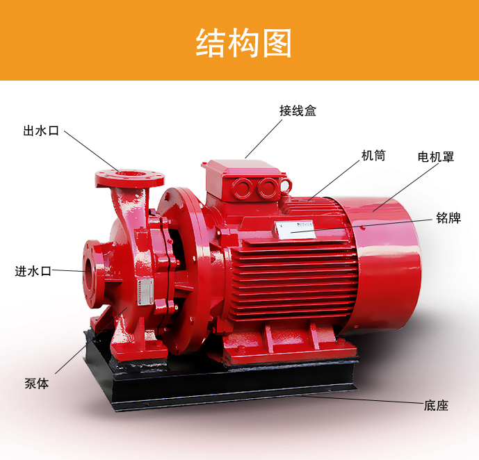 xbd消防泵安裝方法和操作手段介紹 如何正確安裝