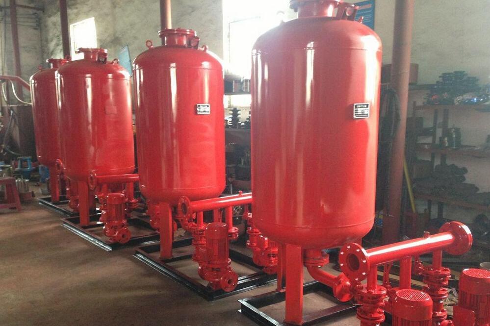 消防增壓穩壓給水設備驗收報告和選用標準