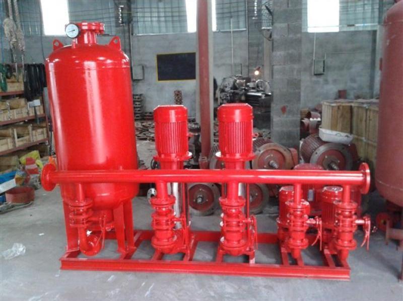 消防增壓穩壓給水設備標準和產品特點
