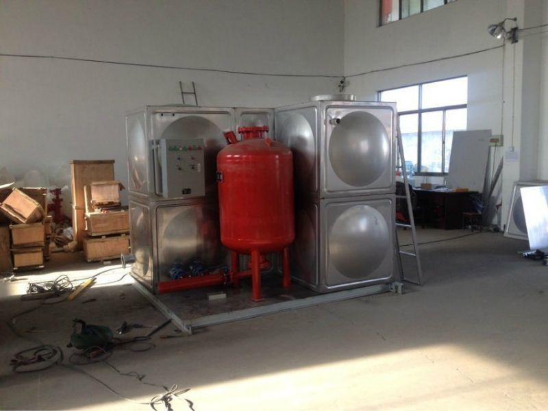 箱泵一體化消防增壓穩壓給水設備工作原理和特點