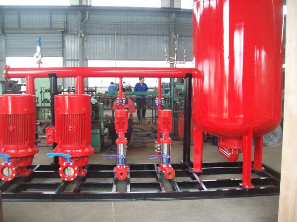 水箱式消防增壓穩壓給水設備哪家好?推薦三利供水