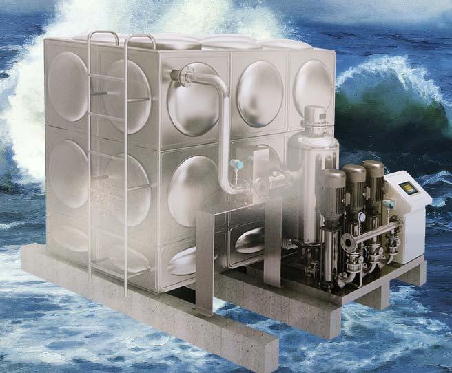 zwx箱式無負壓給水設備