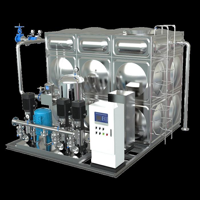 zwx箱式無負壓供水設備型號有哪些?如何選型