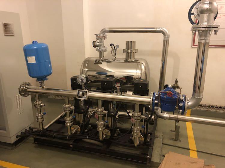 变频供水和无负压供水的区别